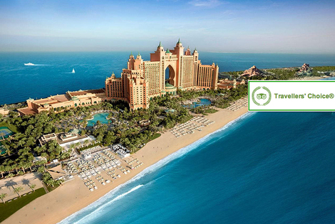 From £699pp (from Crystal Travel) for a 5* Atlantis Dubai break with water park entry and flights, from £899pp for five nights or from £1099pp for seven nights - save up to 27%