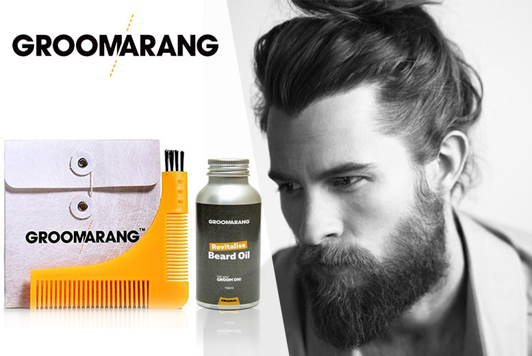 Groomarang Beard Comb & Oil for £7.00