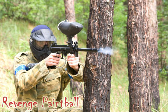 £5 for a day of paintballing for up to 5 people with lunch & 100 paintballs each, or £9 for up to 10 with Revenge Paintballing – save up to 90%