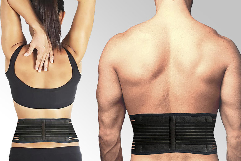 Self Heating Magnetic Back Support – 2 Sizes! for £6.99