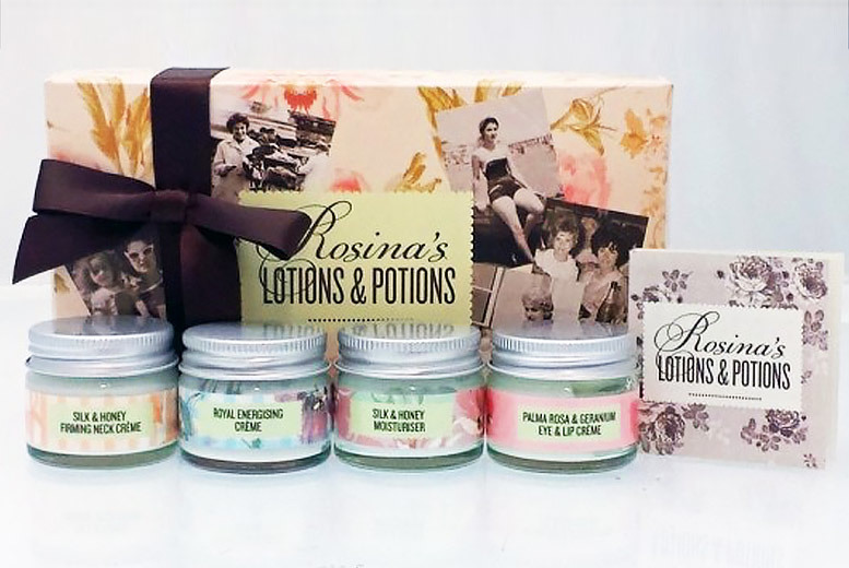 Rosina's Lotions & Potions 4pc Gift Set for £8.99