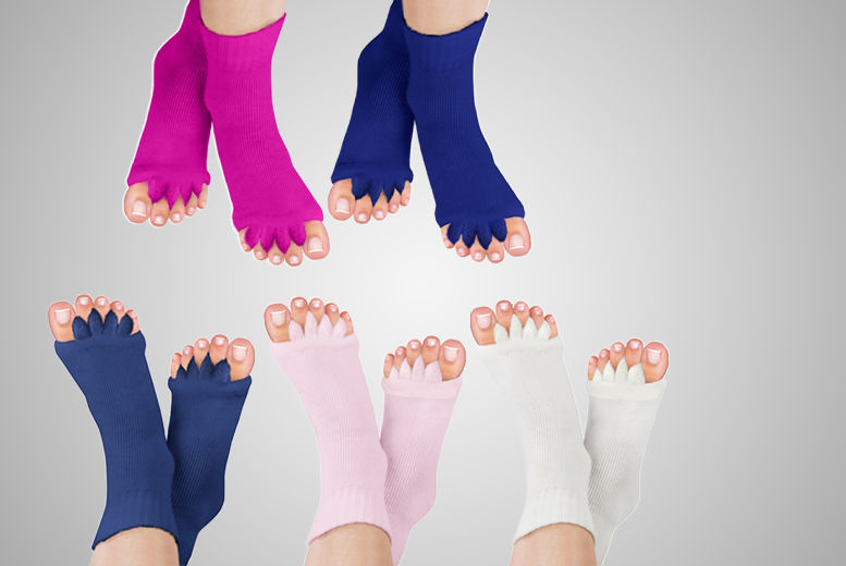 Foot Alignment Socks – 5 Colours! for £4.99