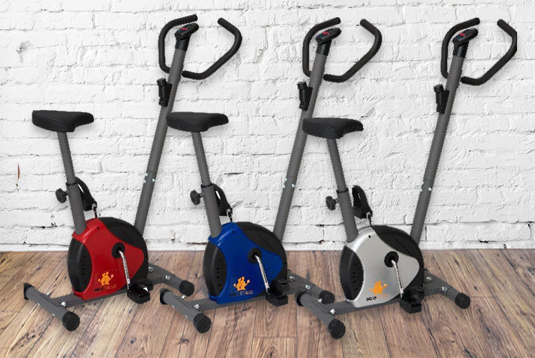 Compact Exercise Bike – 3 Colours! for £49.00