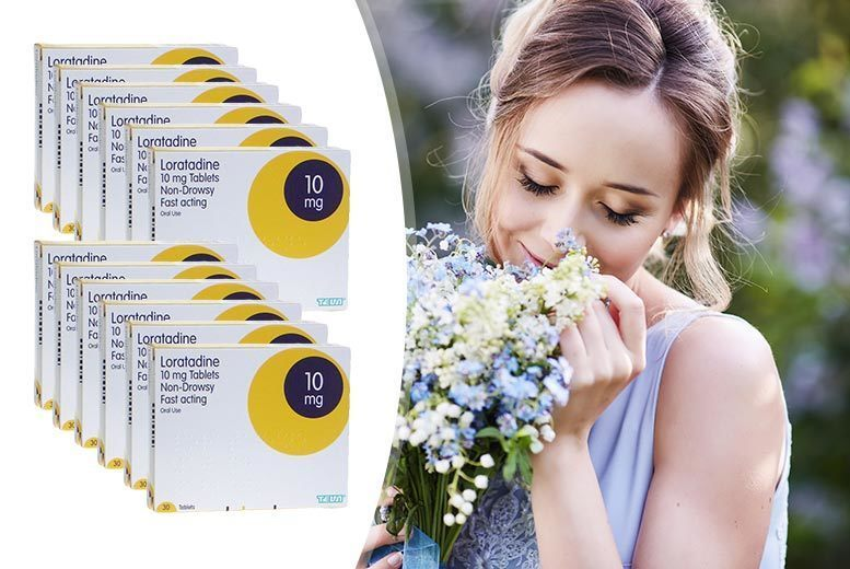 12 Month Supply* of Loratadine Allergy Tablets for £9.00