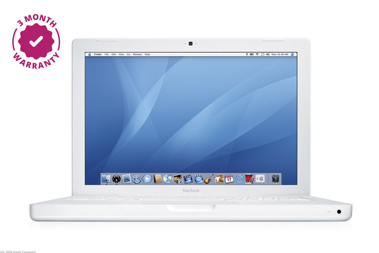 13″ Apple MacBook 160GB Core 2 Duo – 3-Month Warranty! from £179.00