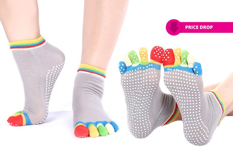 Anti-Slip Yoga Socks for £3.99