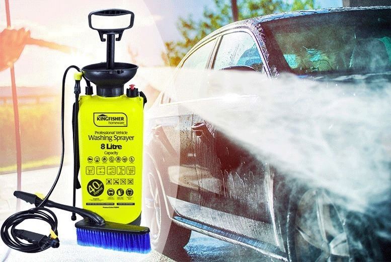 8L High Pressure Sprayer & Washer for £12.00