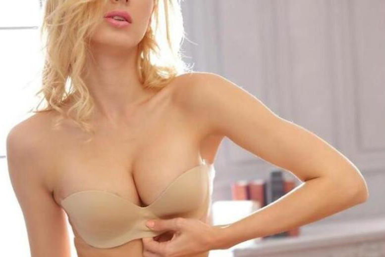 Inflatable Strapless Bra for £4.99