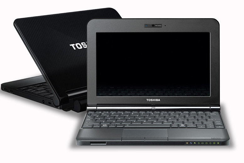 Toshiba NB200 Laptop for £99.00