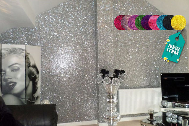 Glitter Paint For Walls Shop Wowcher