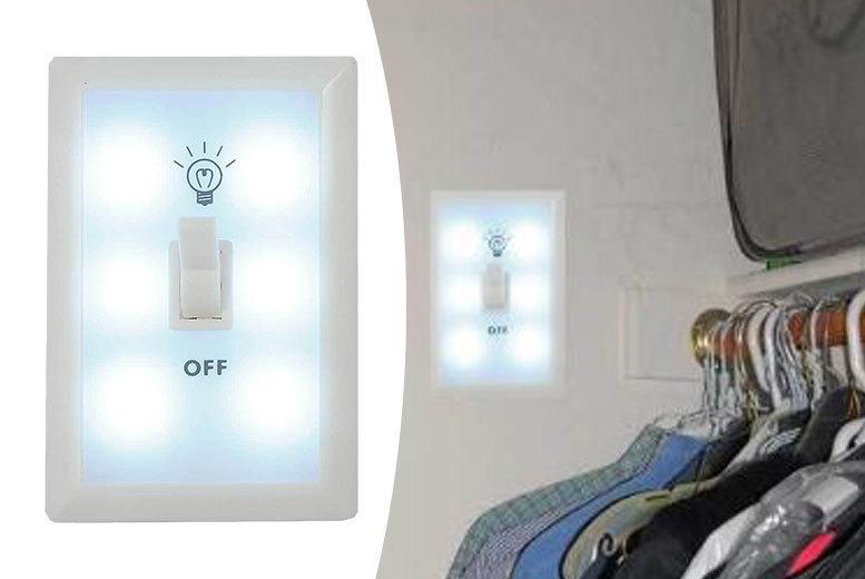 Portable Super-Bright Emergency Blackout Light for £4.99