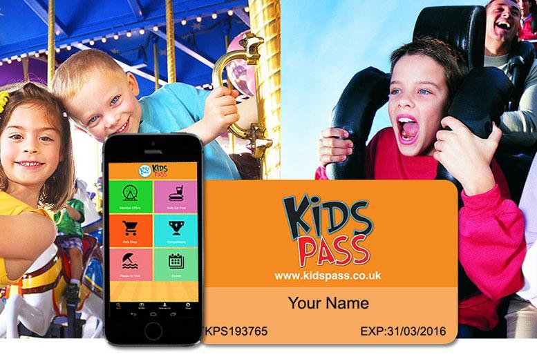 £29.99 instead of £75 for a 12-month Kids Pass to hundreds of attractions - save 60%