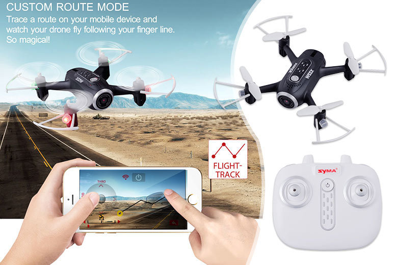 RC Quadcopter Drone – 2 Colours! for £39.00