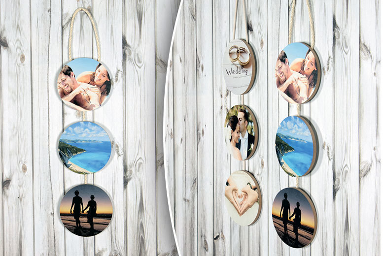 3pc Personalised Hanging Circles for £9.00