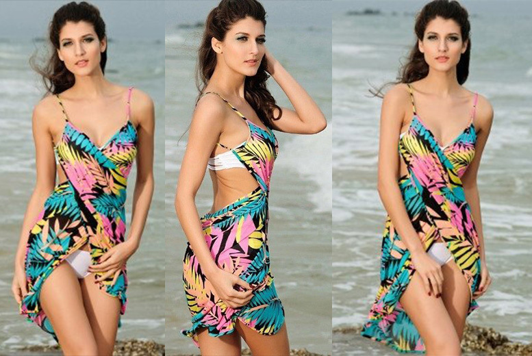 Hawaiian Beach Cover Up Dress for £6.99