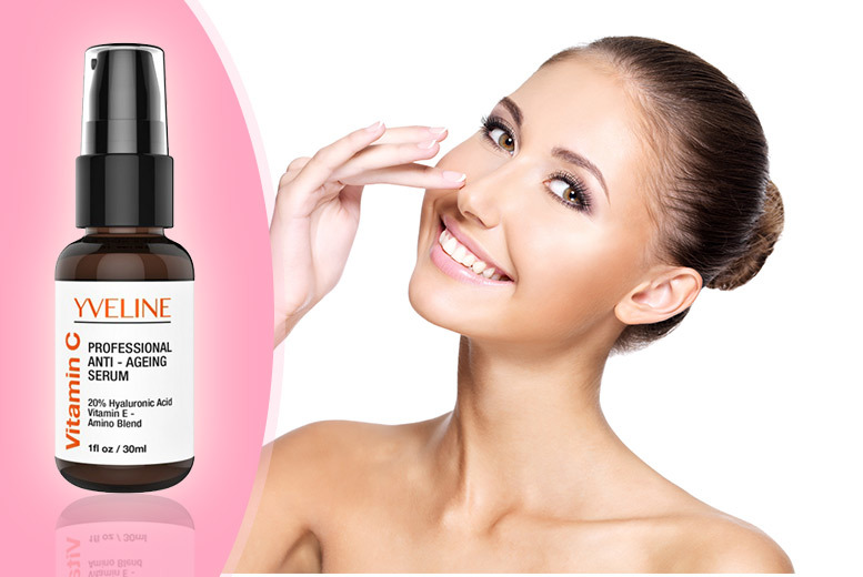 £14.99 instead of £99.99 (from Blushlook) for a hyaluronic acid and vitamin C serum - save 85%
