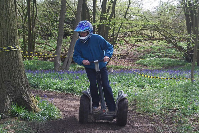 £18 for an off-road Segway experience at your choice of location for 1, or £34 for 2 with Segway Unleashed
