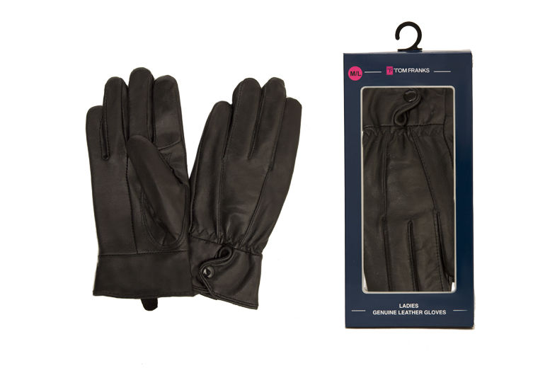Ladies Leather Gloves for £7.99