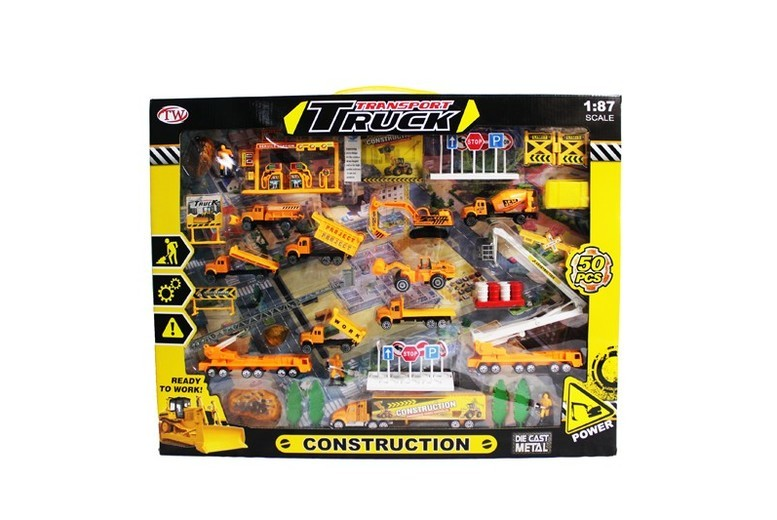 50pc Die-Cast Toy Playset – 5 options! for £12.00