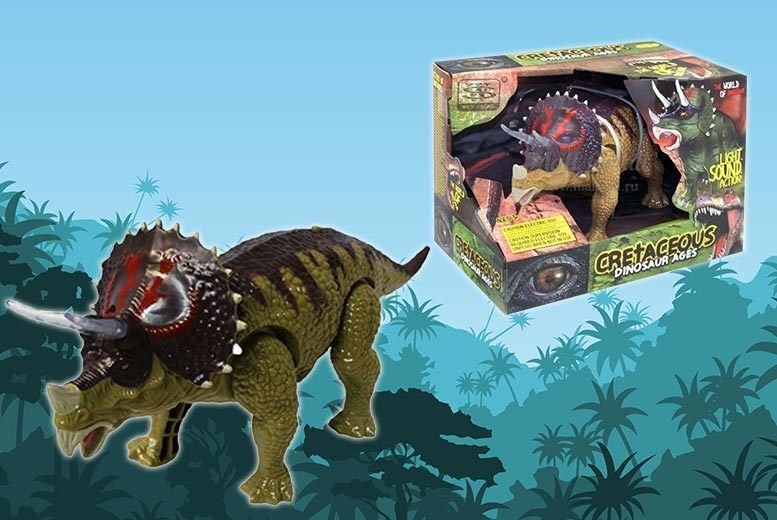Mini Robot Triceratops for £8.00