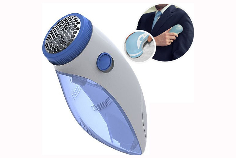 1 or 2 Electric No-Fuzz Lint Removers from £4.99