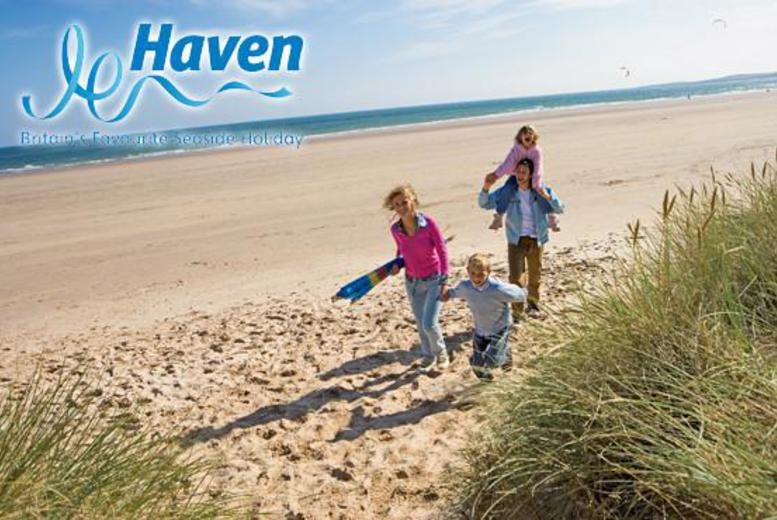 £24 for a £60 voucher to spend on a 3 or 7 night May Half Term stay in a Superior or higher grade caravan at 35 Haven parks nationwide