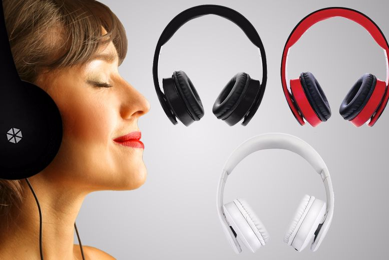 Cocoon 200 Wired Headphones – 3 Colours! for £8.99