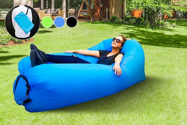 Relaxair Inflatable Lounger - 3 Colours!