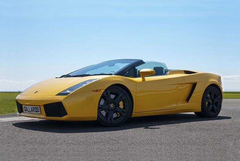 £99 for a Lamborghini and Aston Martin double supercar driving blast experience at a choice of over 15 locations from Buyagift