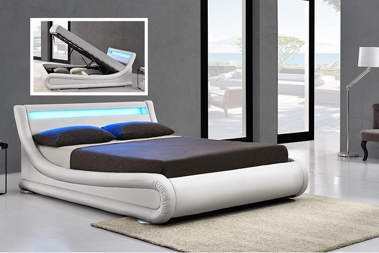 LED Rio Ottoman Bed