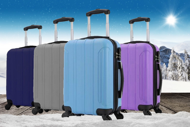 Holando Hard Shell Cabin Luggage – 4 Colours! for £21.00
