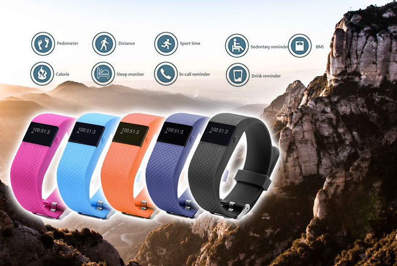 £19.99 instead of £149.99 (from Dreamkart) for a next-gen TW64s 9-in-1 Bluetooth sports activity bracelet with heart rate monitor - choose from five colours and save 87%