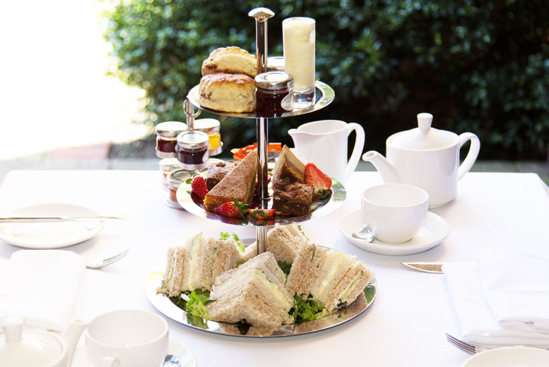 £19 for afternoon tea for two people, £25 to include Prosecco at Novotel Birmingham Centre