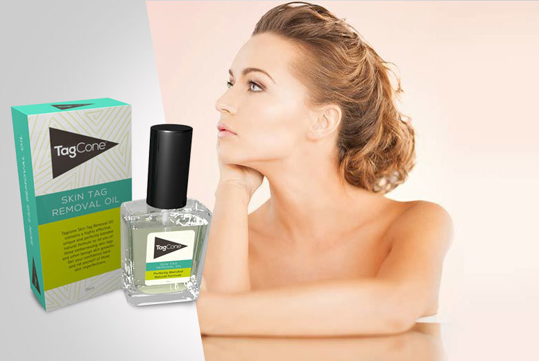 £7 instead of £34.99 (from TagCone) for one 15ml bottle of skin tag removal oil, £12 for two bottles - save up to 80%