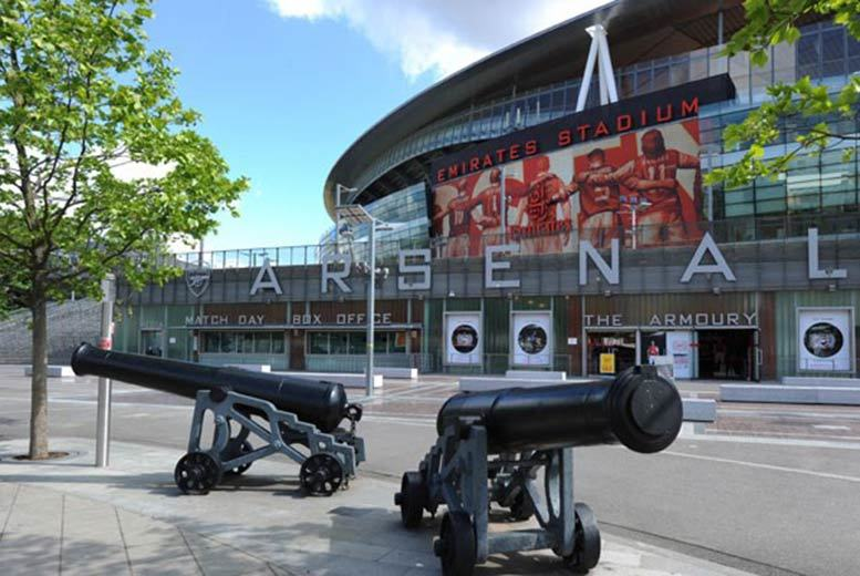 £80 for an Emirates Legends stadium tour for two adults including Arsenal Museum, certificate and branded headphones from Buyagift!