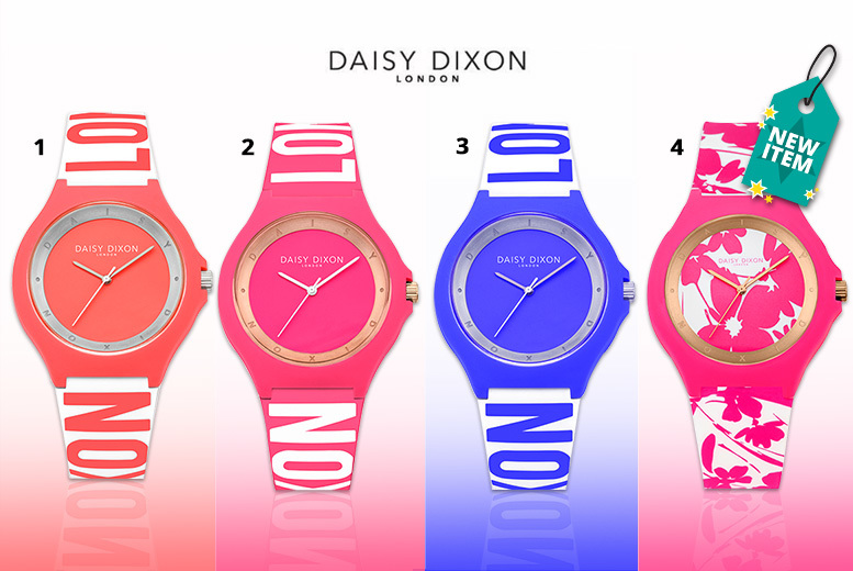 Ladies' Daisy Dixon Water-Resistant Watch - 4 Designs!