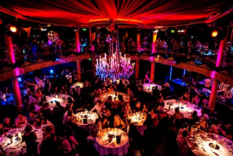 £49 for a Saturday cabaret experience including a two-course meal and club entry at Café De Paris, Piccadilly - save up to 35%