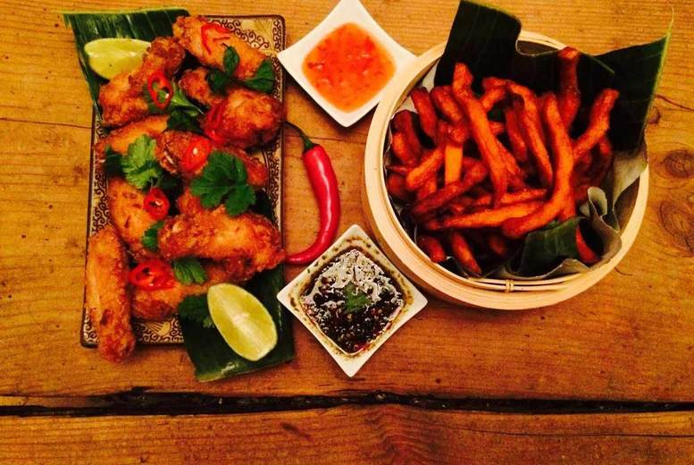 £25 for a five-course Thai meal for two people and a bottle of wine, £49 for four people and two bottles of wine at Soi 101 @ Proud Mary, Glasgow