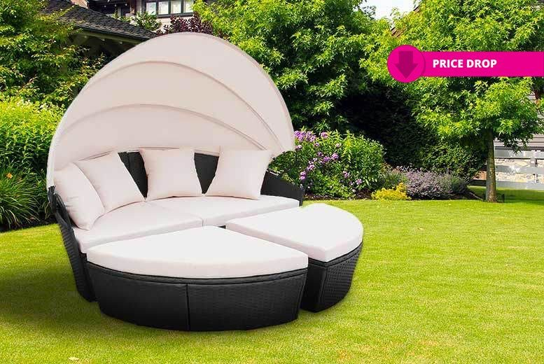 Rattan Bali Day Bed - 2 Colours!