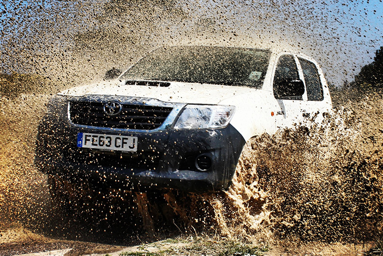 £29 instead of £75 for a one-hour off-roading experience for one person, or £54 for two people at True Grip Off Road, Ashford - save up to 61%