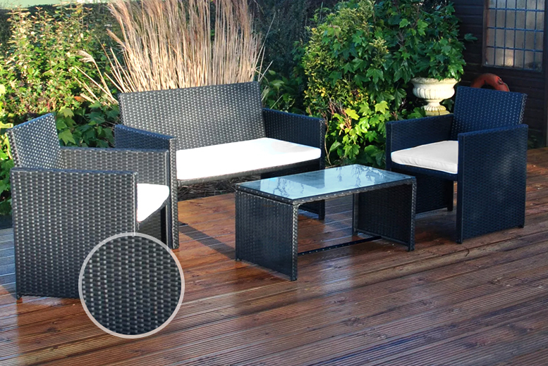 Wowcher deal deals direct 169 instead of 249 for a for Garden furniture deals
