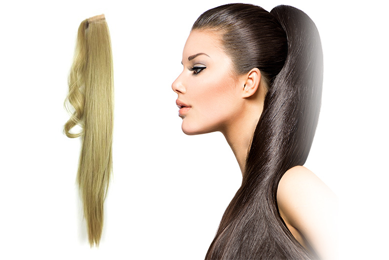 22 inch ponytail extension