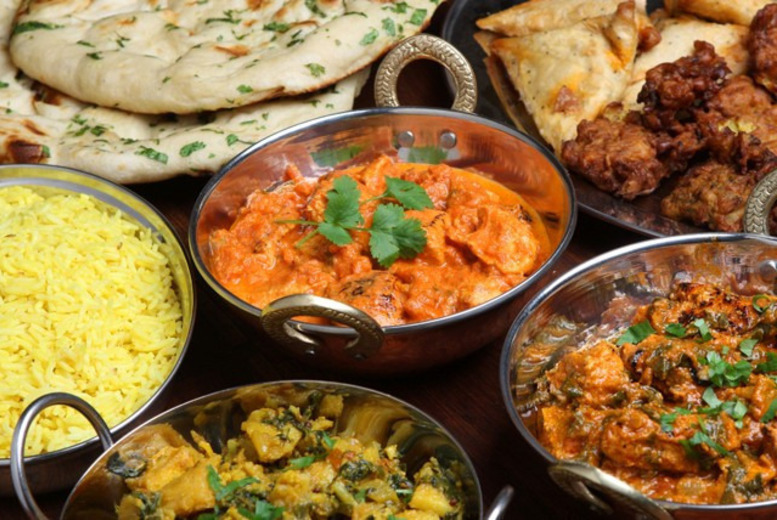 Indian Lunch and Sides for 2