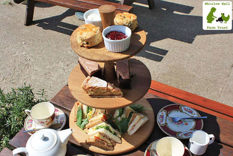 £10 instead of £20 for a delicious afternoon tea for two people at the Cruck Barn, Whirlow Hall Farm Trust, Sheffield - save 50%