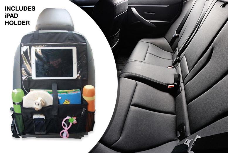 Hanging Car Back Seat Organiser with Tablet Holder for £5.99