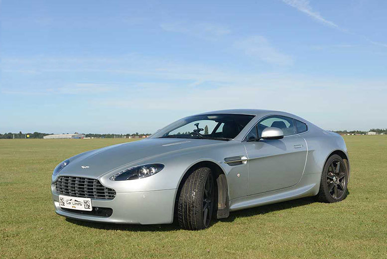 From £39 instead of £149 for a three-lap 'James Bond' Aston Martin experience at a choice of five venues with Supercar Test Drives - save up to 74%