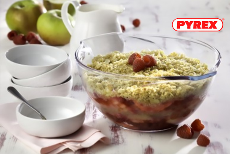 Set of 3 or 6 Pyrex Mixing Bowls from £12.00