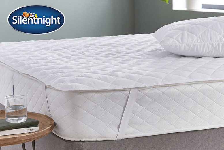 Silent Night Extra Full Mattress & Pillow Protector Set from £9.99