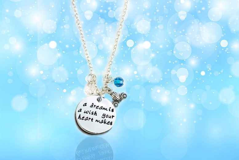 Cinderella Quote Necklace for £6.00