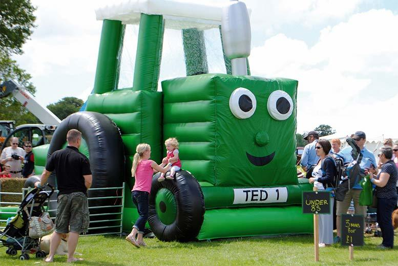 From £3 instead of £5 for a Tractor Ted Live ticket and petting farm entry to Lower Drayton Petting Farm, Staffordshire - save up to 40%